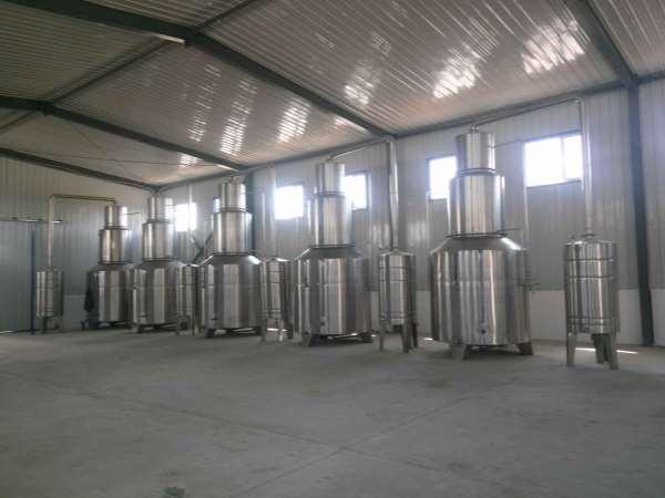 酒尾回收器(液态法白酒蒸馏设备)